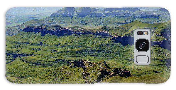Drakensberg Mountains Galaxy Case by Werner Lehmann