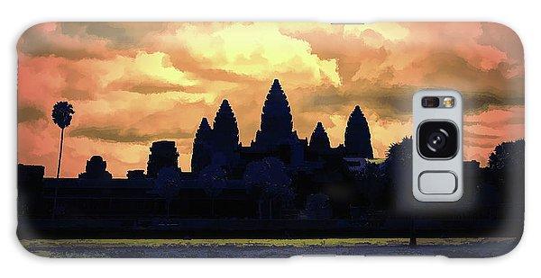 Dramatic Angkor Wat  Galaxy Case