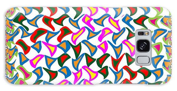 Dramatic Artistic Wind Blows The Paper Cuttings In A Dancing Mode Galaxy Case