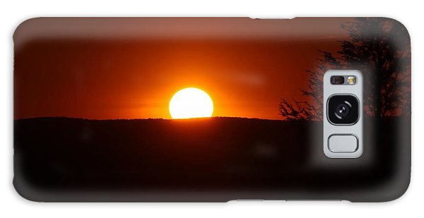 Dramatic Sunset View From Mount Tom Galaxy Case