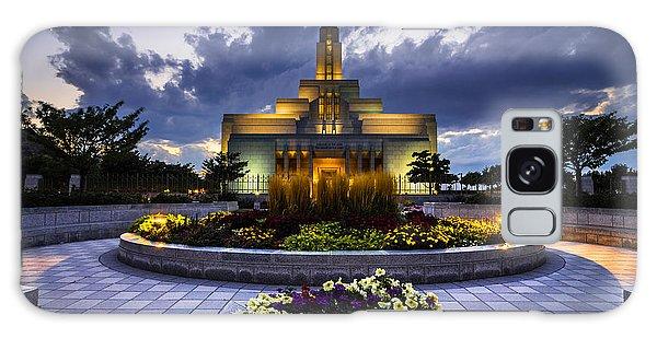 Draper Mormon Lds Temple - Utah Galaxy Case
