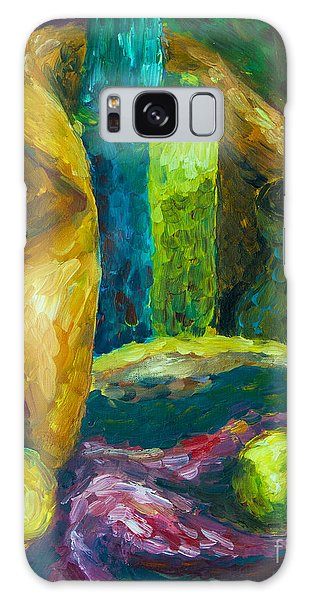 Drapes And Shapes Galaxy Case