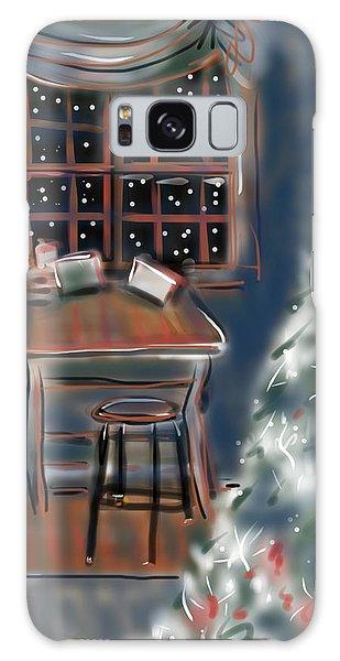Drawing Board At Christmas Galaxy Case