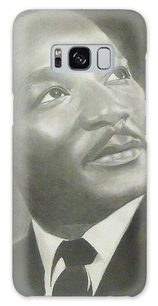Hyper-realistic Galaxy Case - Drawing Dr. Martin Luther King Jr. by Chadd Dudley