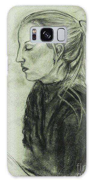 Drawing Of An Artist Galaxy Case
