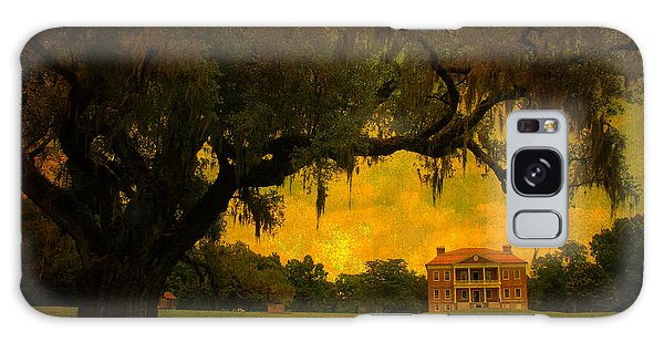 Drayton Hall Plantation In Charleston Galaxy Case