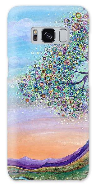 Dream Big Galaxy Case by Tanielle Childers