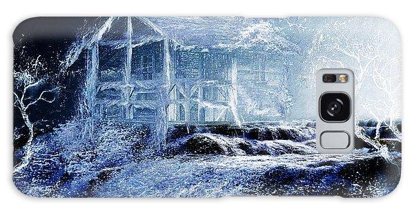 Dream Cabin  Galaxy Case by Michael Cleere