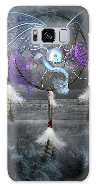 Dream Catcher Dragon Fish Galaxy Case