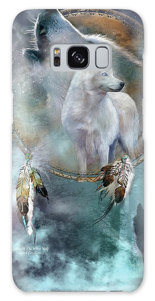 Dream Catcher - Spirit Of The White Wolf Galaxy Case