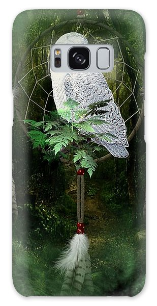 Dream Catcher White Owl Galaxy Case
