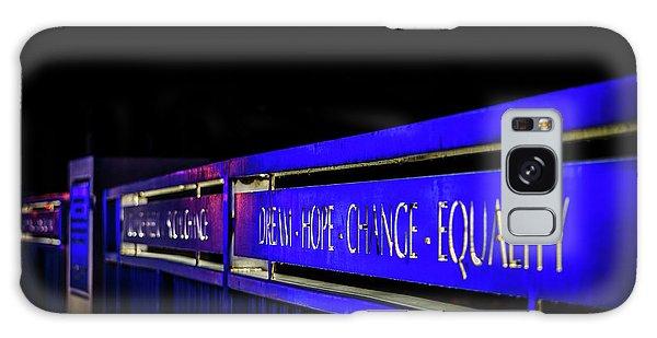 Dream-hope-change-equality Martin Lurther Kin Bridge - Fort Wayne Indiana Galaxy Case