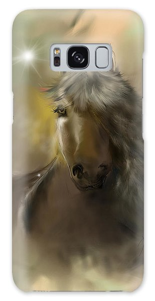 Galaxy Case featuring the digital art Dream Horse by Darren Cannell