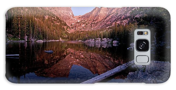 Galaxy Case featuring the photograph Dream Lake by Gary Lengyel