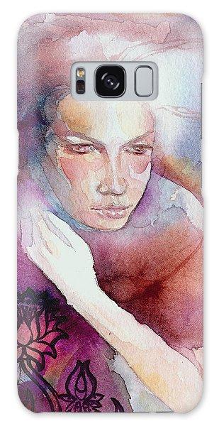Dream Lotus Galaxy Case by Ragen Mendenhall