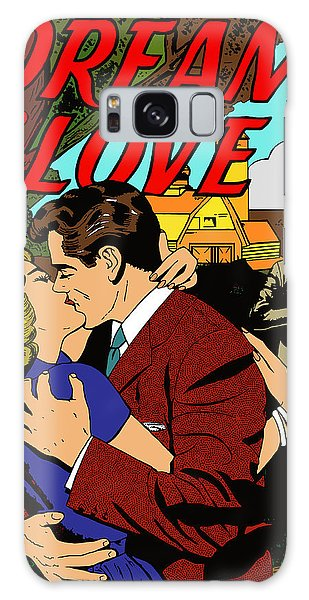 Galaxy Case featuring the digital art Dream Of Love 2 Comic Book by Joy McKenzie