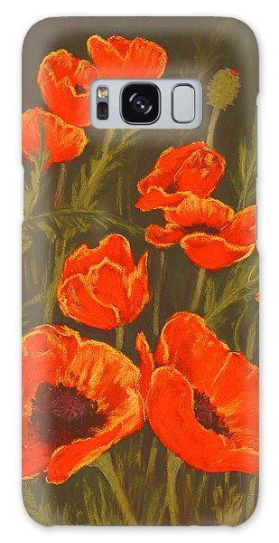 Galaxy Case featuring the painting Dream Of Poppies by Anastasiya Malakhova