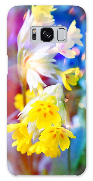Dream Of Yellow Flowers Galaxy Case