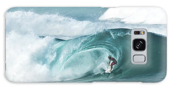 Dream Surf Galaxy Case by Steven Sparks