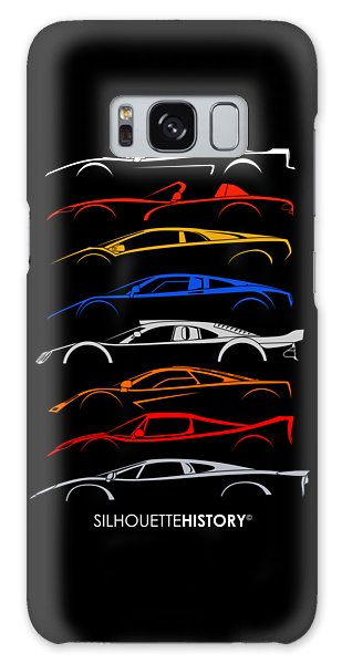 Viper Galaxy S8 Case - Dreamcars Of 90s Silhouettehistory by Gabor Vida