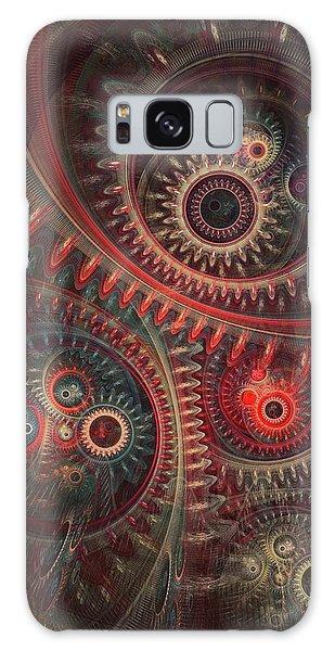 Dreaming Clocksmith Galaxy Case by Martin Capek