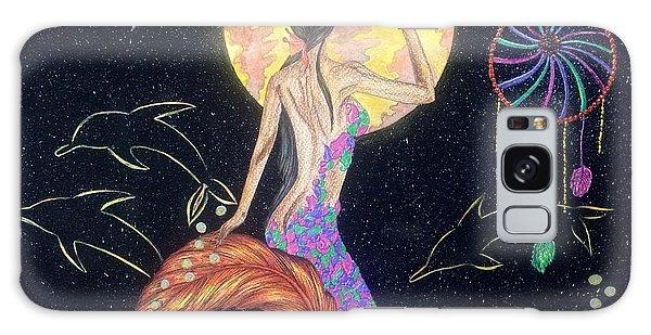 Feather Stars Galaxy Case - Dreaming Mermaid by Tejsweena Krishan