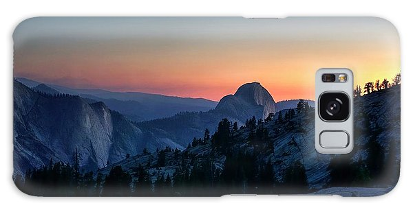 Galaxy Case featuring the photograph Dreaming Of Climbing Half Dome by Peter Thoeny