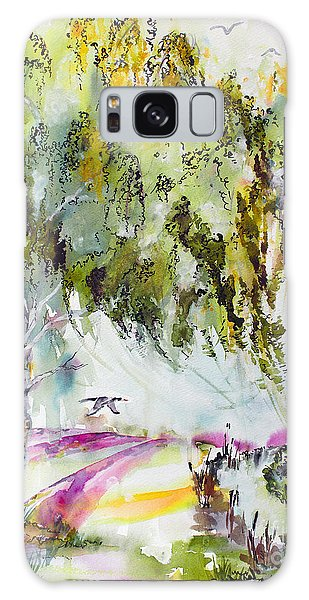Dreaming Of Provence Galaxy Case by Ginette Callaway