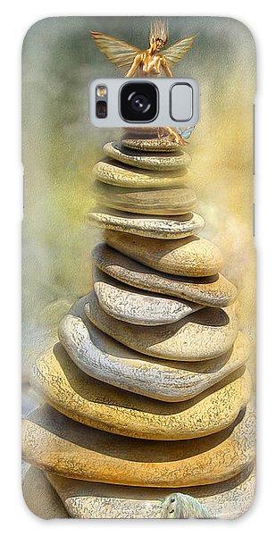 Galaxy Case - Dreaming Stones by Carol Cavalaris