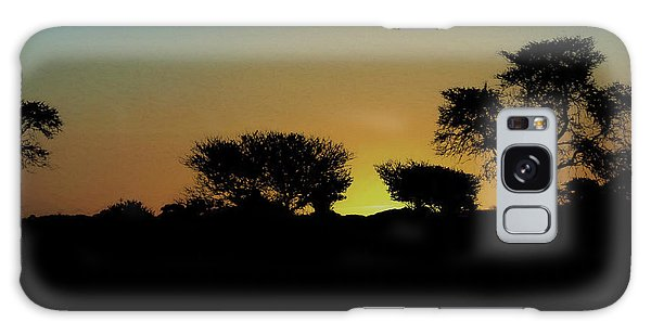 Dreams Of Namibian Sunsets Galaxy Case by Ernie Echols