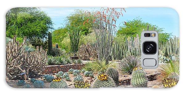 Dreamy Desert Cactus Galaxy Case