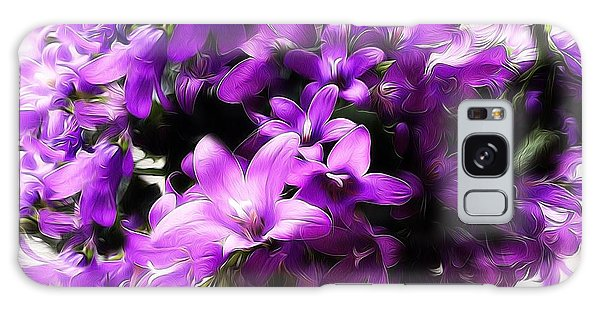 Dreamy Flowers Galaxy Case