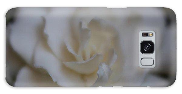 Gardenia Galaxy Case - Dreamy Gardenia by Teresa Wilson