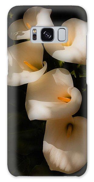 Dreamy Lilies Galaxy Case