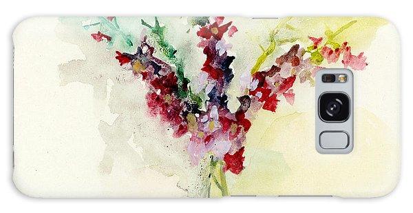 Dreamy Orchid Bouquet Galaxy Case