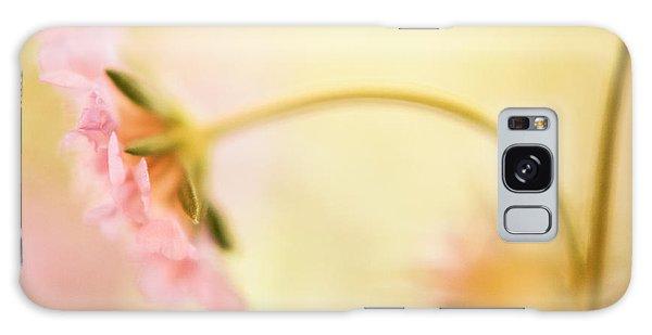 Dreamy Pink Flower Galaxy Case by Bonnie Bruno
