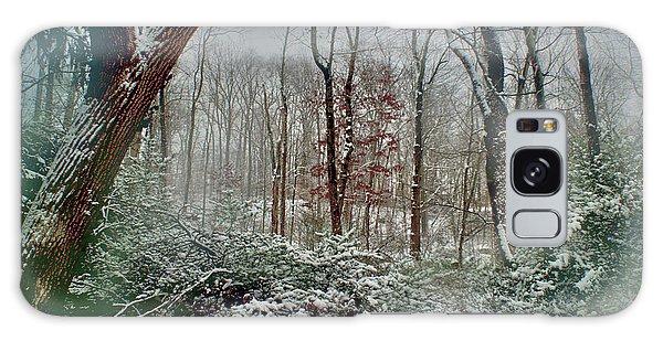 Dreamy Snow Galaxy Case by Sandy Moulder