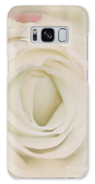 Dressed In White Satin Galaxy Case
