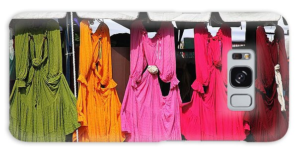Dresses In The Sunlight Galaxy Case by Theresa Willingham