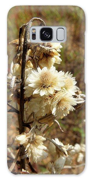 Dried Flowers Galaxy Case by Scott Kingery