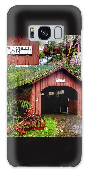 Drift Creek Covered Bridge Galaxy Case by Susan Garren