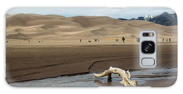 Drift Wood And Dunes Galaxy Case