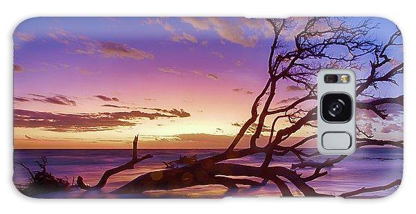 Driftwood Beach 1 Galaxy Case
