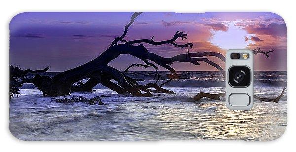 Driftwood Beach 9 Galaxy Case