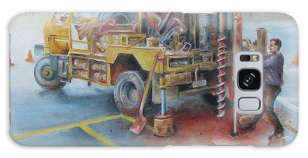 Drill,drill,drill Galaxy Case by Oz Freedgood