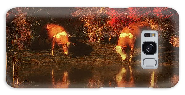Drinking Cows In The Forest Galaxy Case