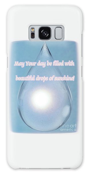 Drops Of Sunshine Galaxy Case