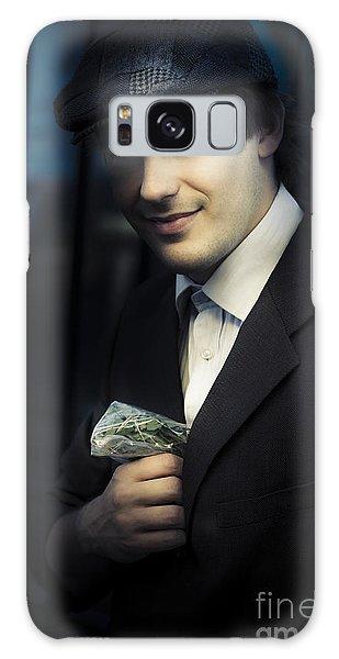 Sly Galaxy Case - Drug Dealer With Marijuana by Jorgo Photography - Wall Art Gallery