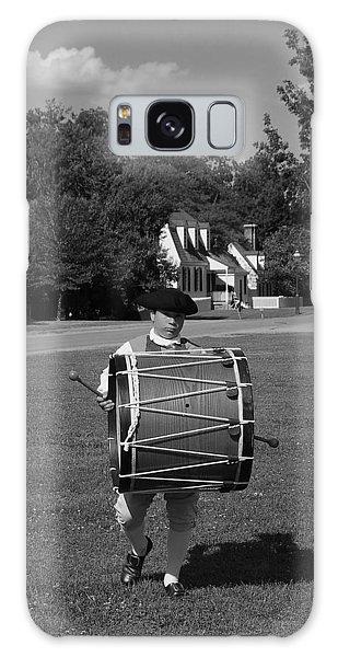 Drummer Boy Galaxy Case by Eric Liller