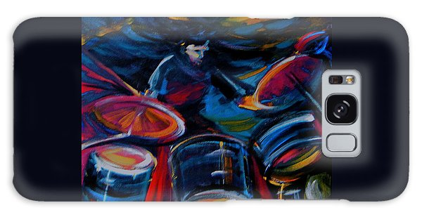 Drummer Craze Galaxy Case